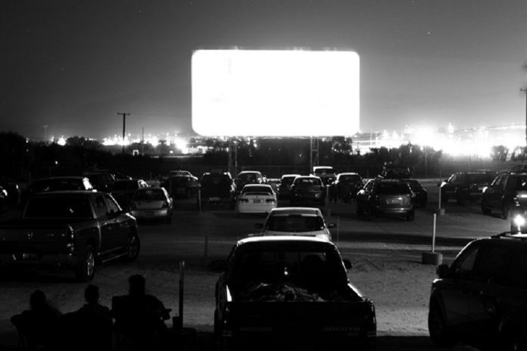 Trump threatens to rally at drive-in movie theaters