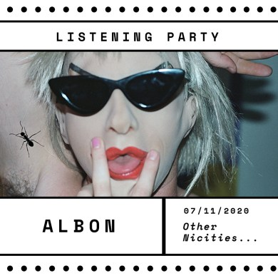 Albon: 'Other Niceties…' Zoom Listening Party | Hype | LIVING LIFE FEARLESS