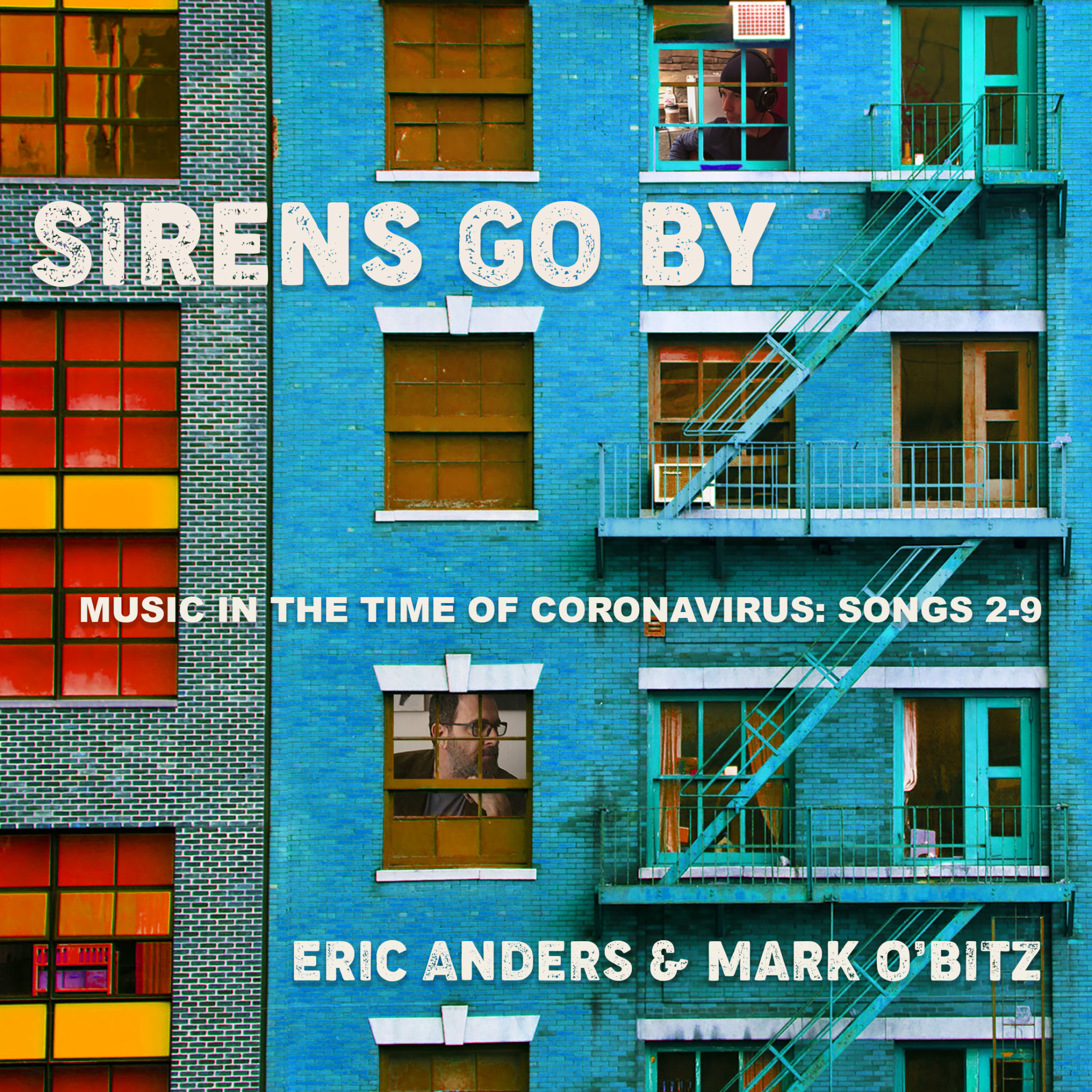 Eric Anders and Mark O'Bitz - 'Sirens Go By' Reaction | Opinions | LIVING LIFE FEARLESS
