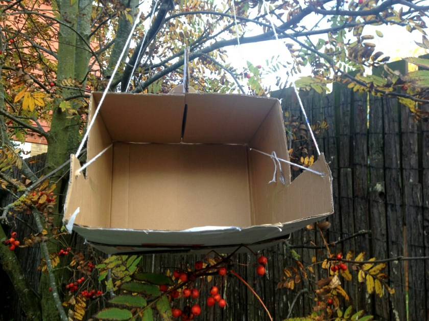 Bird feeder, protecting wildlife, winter, Rattan Direct