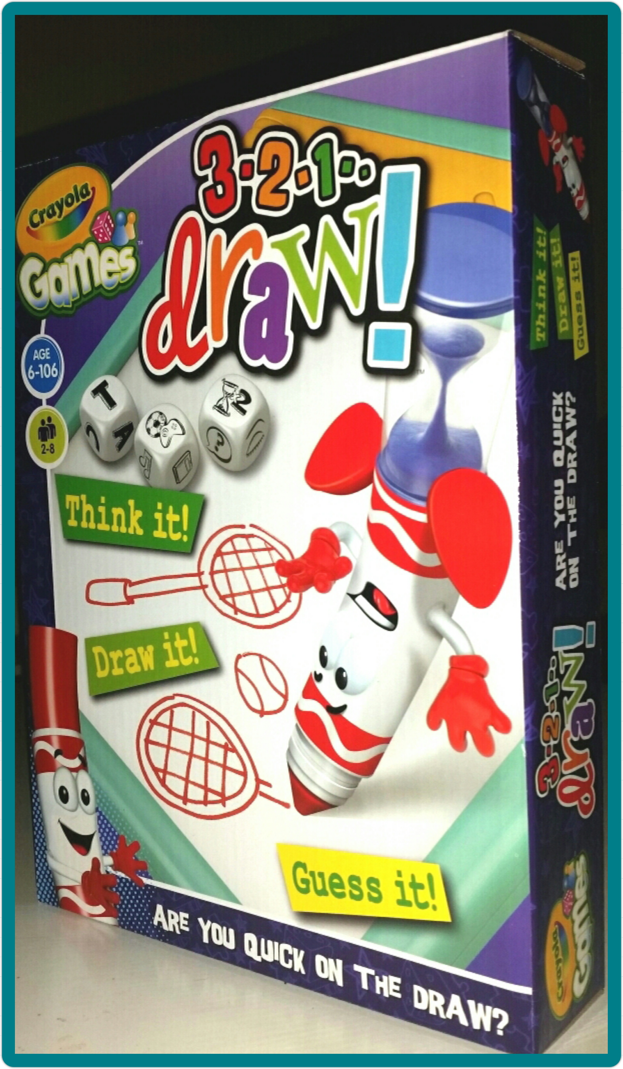 Review: Crayola Games - 3, 2, 1 Draw! - Living Life Our Way