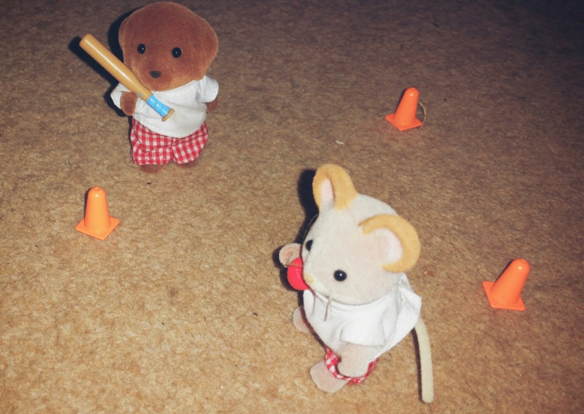 Sylvanian Families Photo Captions