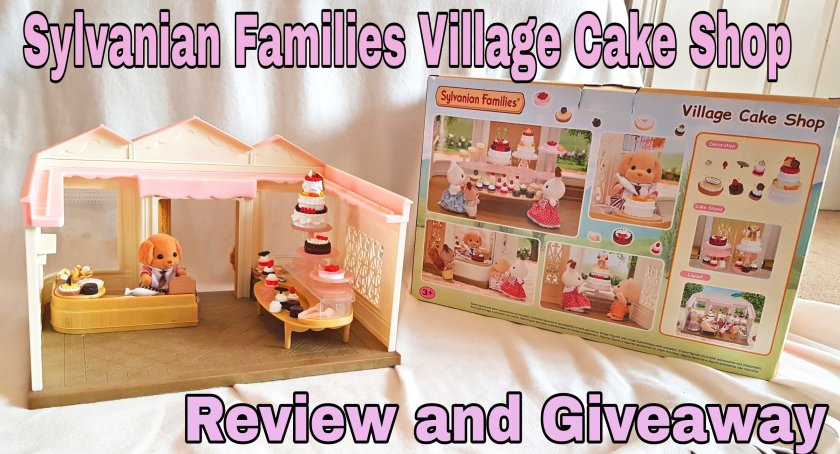 Sylvanian Families, village cake shop, Poodle Sylvanian, review, giveaway, competition, prize, win, toys, imaginative play, gift ideas, Living Life Our Way