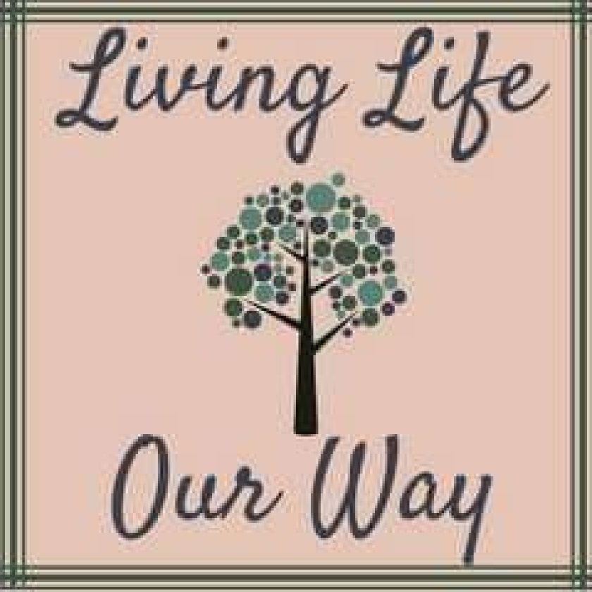 Living Life Our Way logo designed by Canva