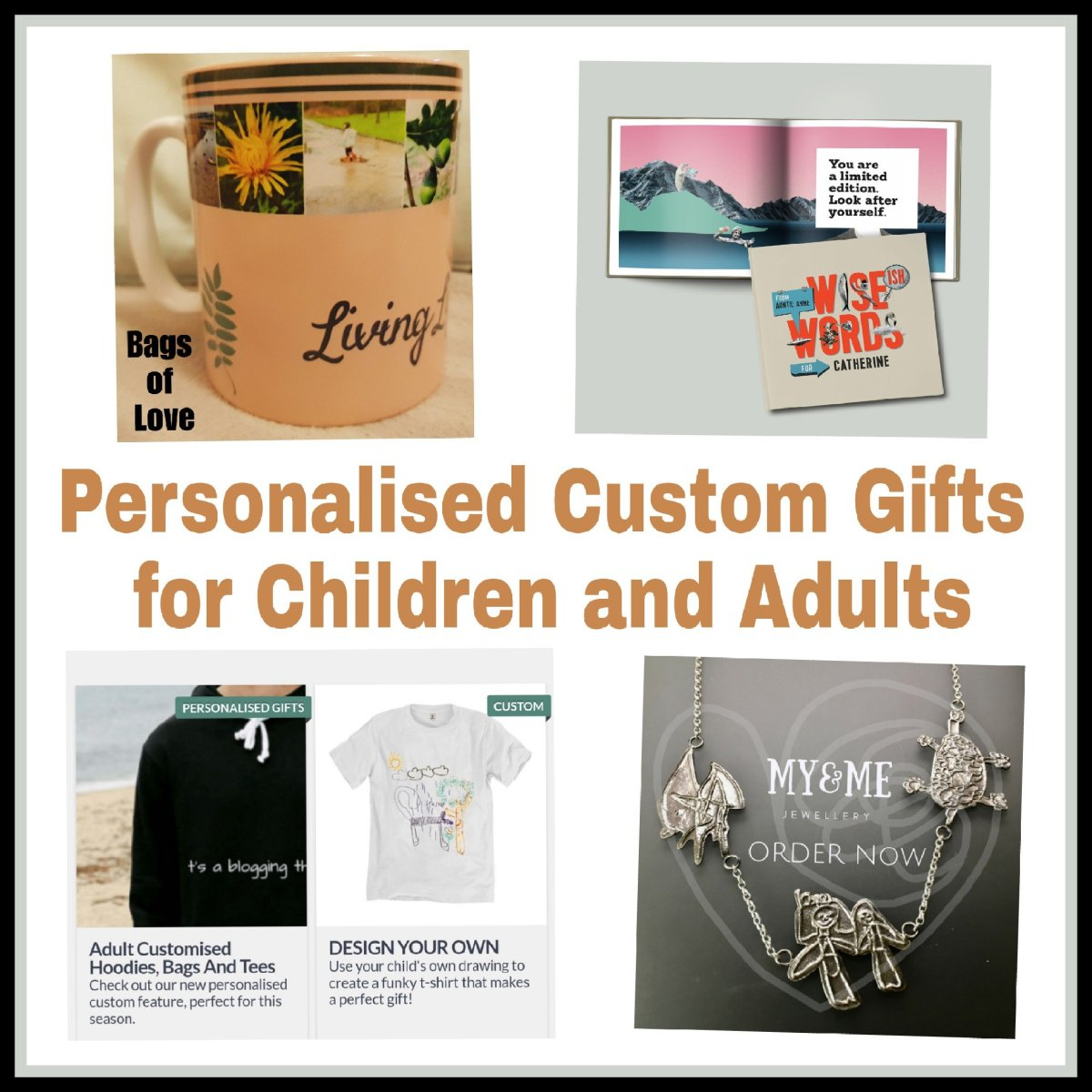 Personalised Gift Ideas – A Creative Gift Guide for Adults and Children