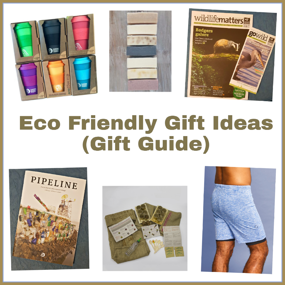 Eco- Friendly Gift Ideas (Gift Guide With Giveaway)