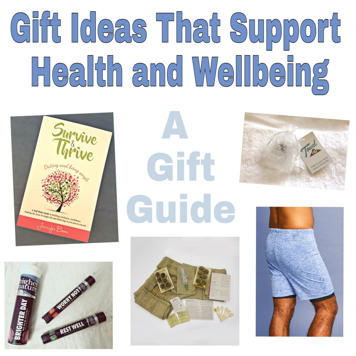 Great Gift Ideas For Health and Wellbeing (Gift Guide)