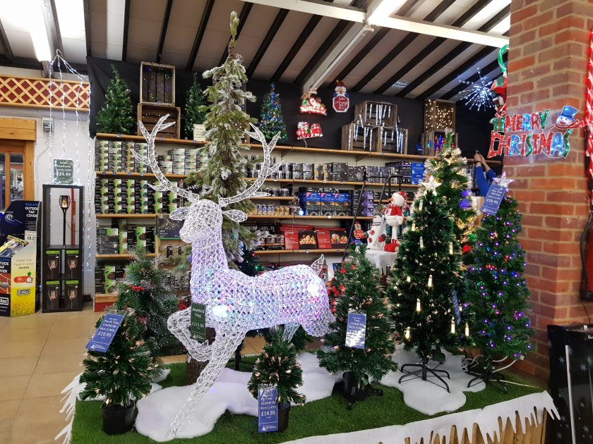 Aylett Nurseries festive display