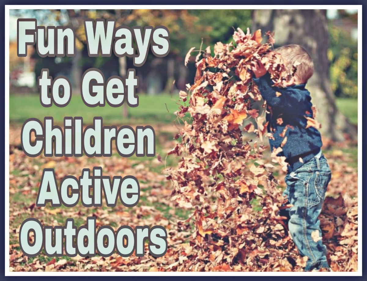 Fun Ways to Get Children Active Outdoors
