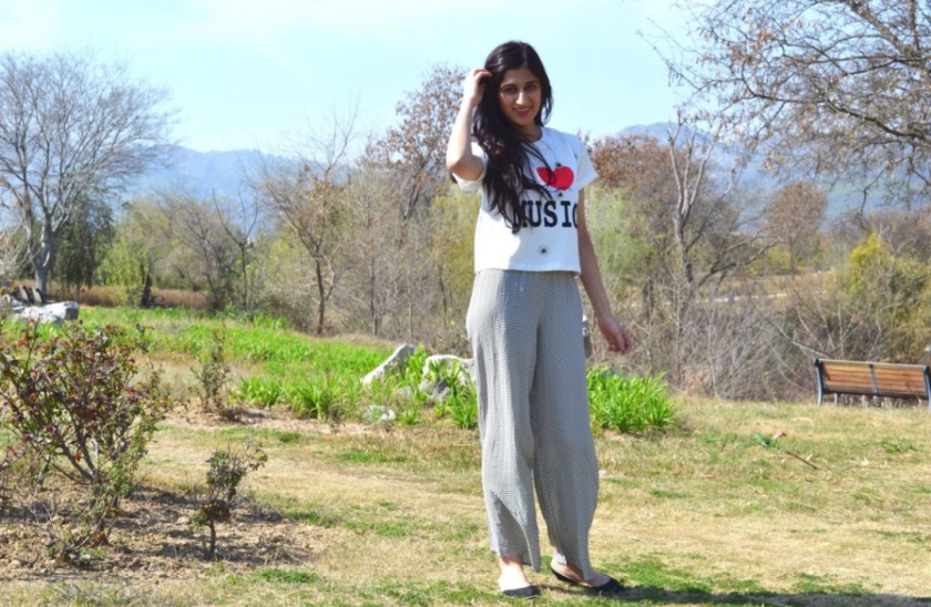 A photo of guest blogger Noor Najam standing outdoors