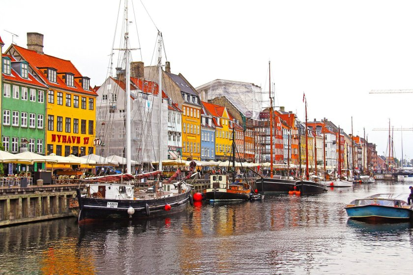 Scenic view of Copenhagen