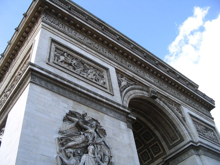 Paris arc de triomph