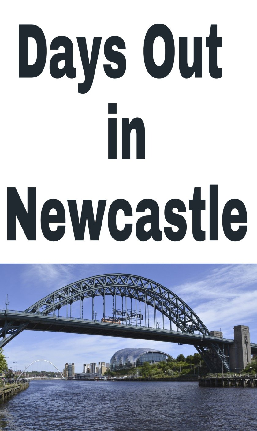 Days Out in Newcastle title with image of Tyne below