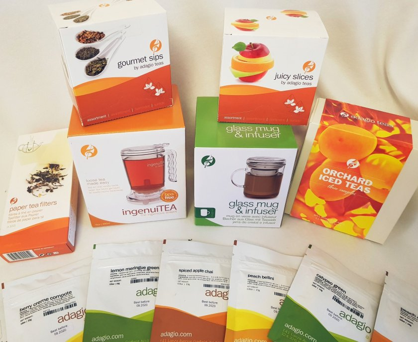 A photo of Adagio Teas and accessories