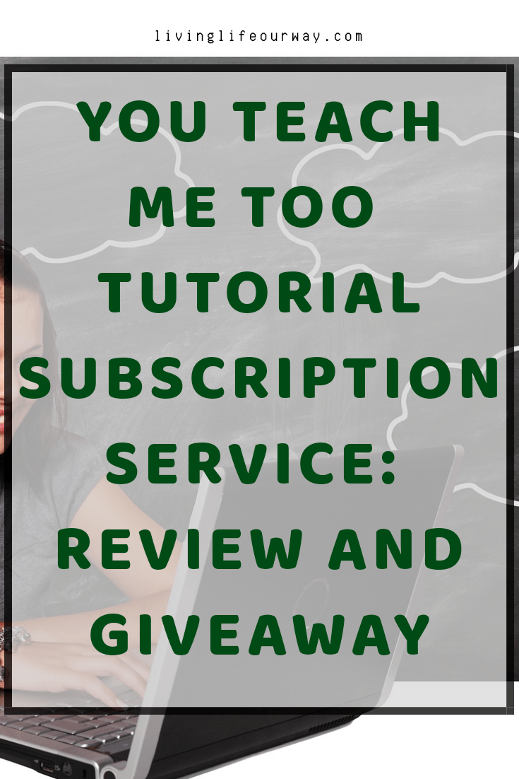 YouTeachMeToo Tutorial Subscription Service: Review and Giveaway title image