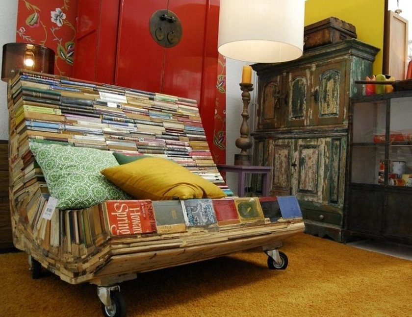 Book chair #reuse #upcycle