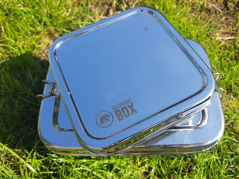 Elephant box and salad box - stainless steel - eco