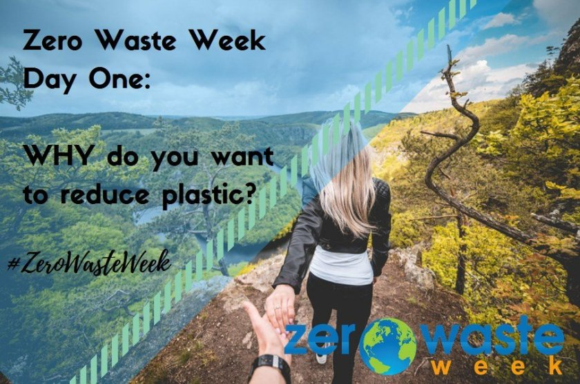 #zerowasteweek - why do you want to reduce plastic?