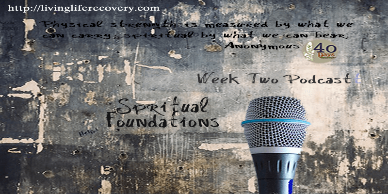4o Days of Recovery – Week 2