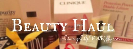 Beauty Haul (2)