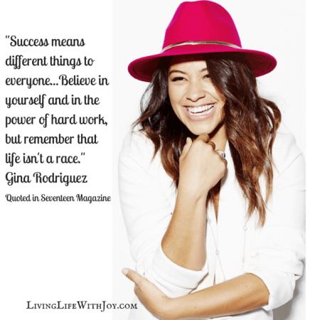 Gina Rodriguez - Seventeen