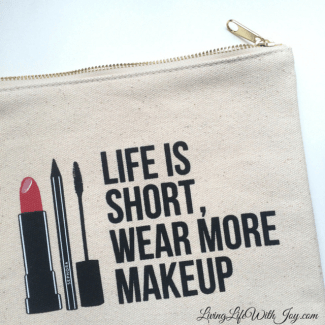 Life is short, wear more makeup
