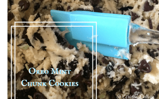 Recipe & Giveaway – Oreo Mint Chunk Cookies