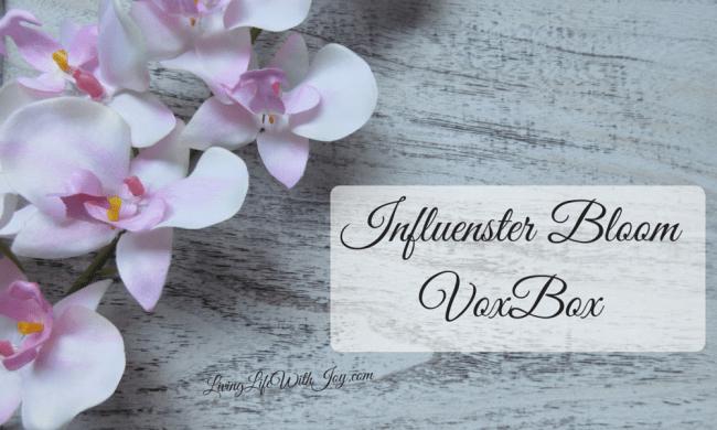 Influenster BloomVoxBox - by Arielle Deltoro