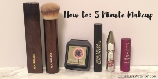 How to- 5 minute makeup