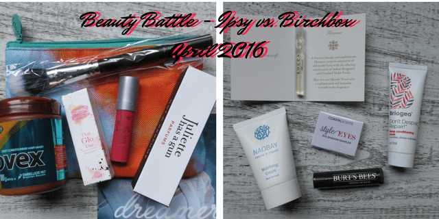 Ipsy v birchbox April 2016