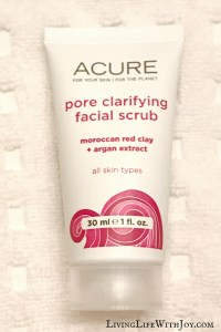 Review – Acure Pore Clarifying Facial Scrub