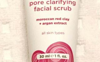 Review – Acure Pore Clarifying Facial Scrub