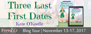 Three Last First Dates by Kate O'Keeffe