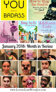 January 2018: Month in Review