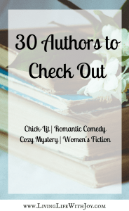 30 Authors to Check Out