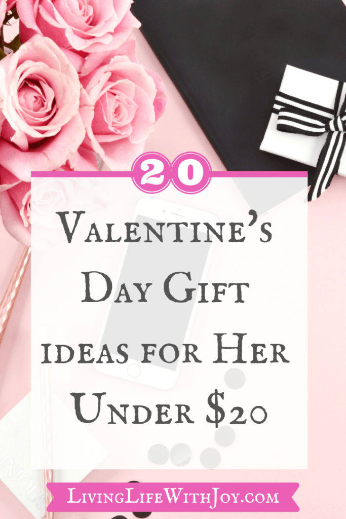 20 Valentine's Day Gift Ideas for Her Under $20