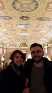 We quickly visited the Palmer House because OPULENCE.