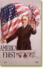 Warren G. Harding Campaign poster 1920