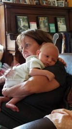 Gramma is also a baby whisperer.