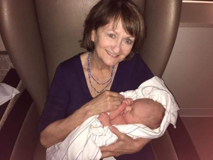 Gramma is our #1 babysitter!