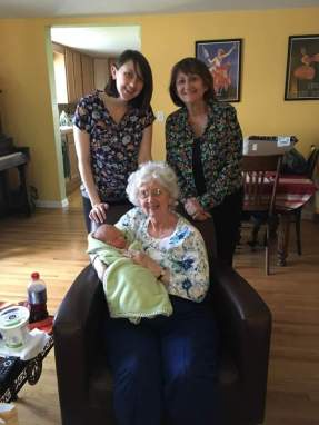 Four generations together!
