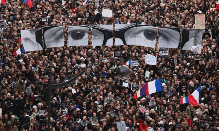 Charlie Hebdo unity march