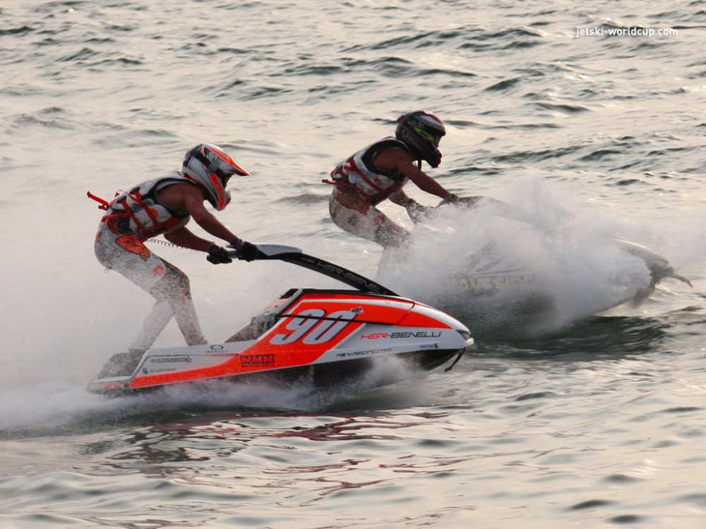wind-riding with jet skiing in Pattaya, Thailand. Source