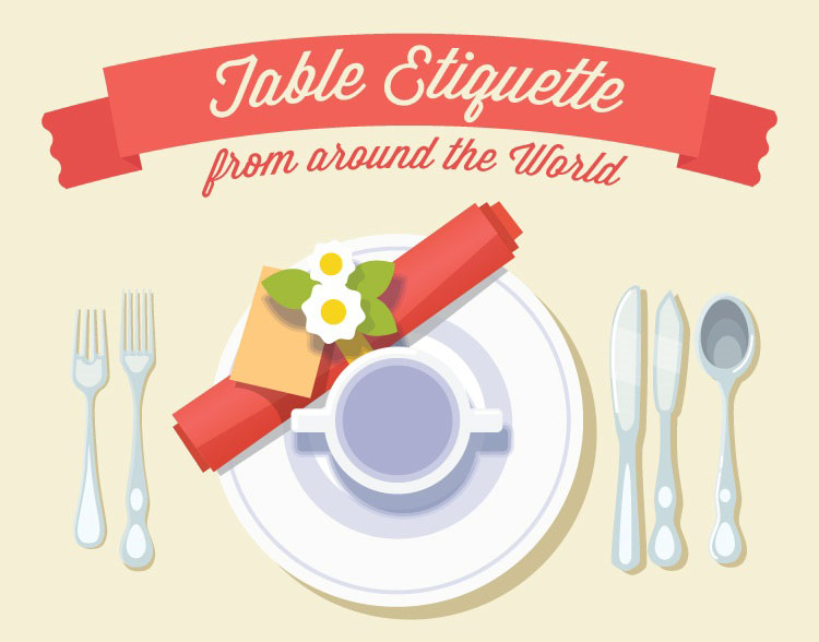 appropriate dining etiquette for global travelers