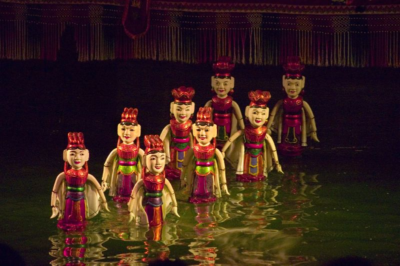 Water Puppets show