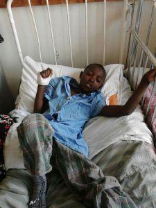 Joseph in the Hospital