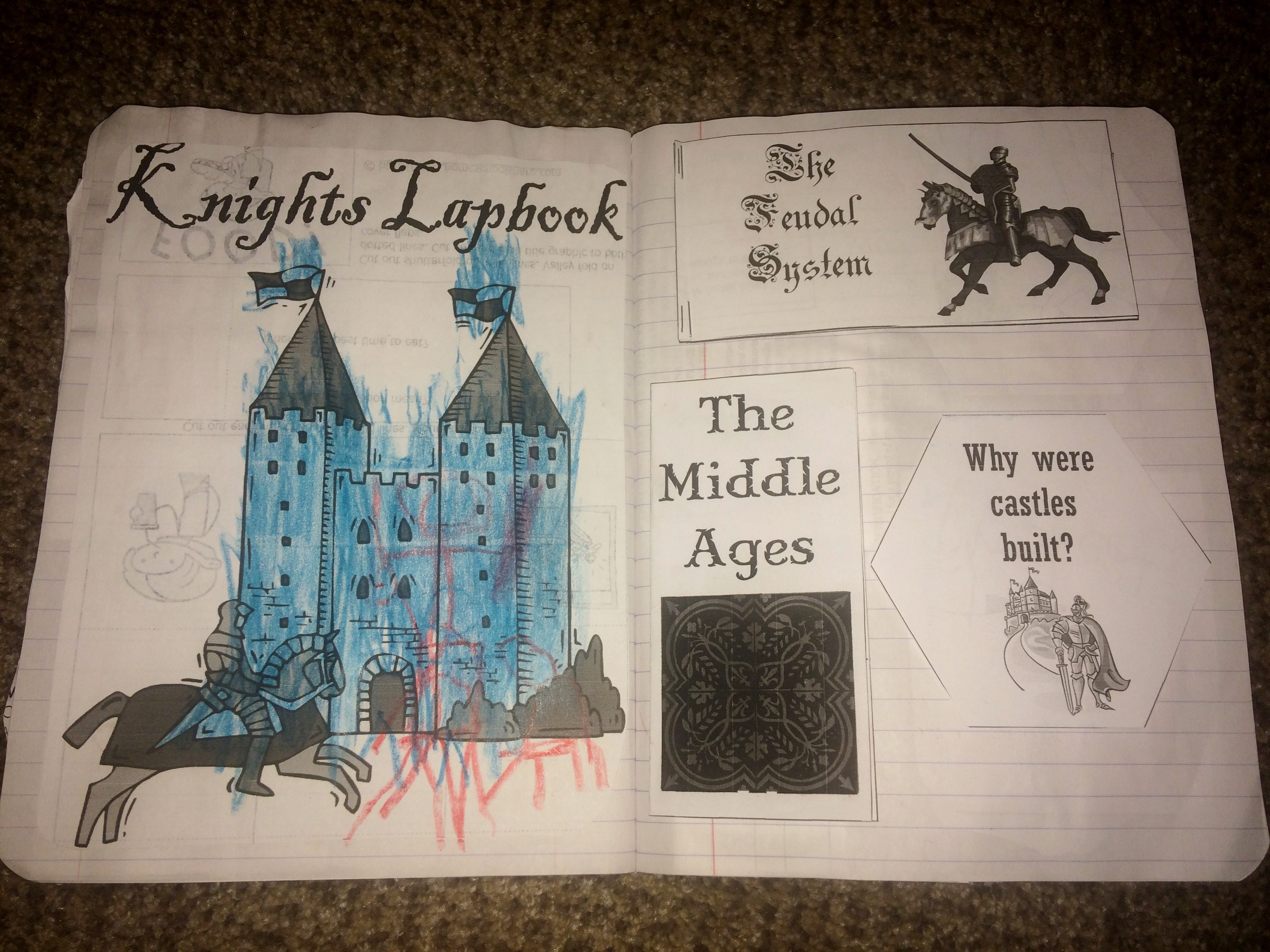 Magic Tree House For History The Knight At Dawn Book 2