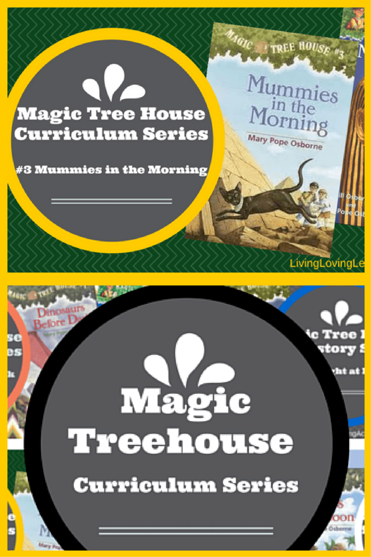 Magic Treehouse 3 Part - 39: Magic Tree House Curriculum: Mummies In The Morning (Book 3)
