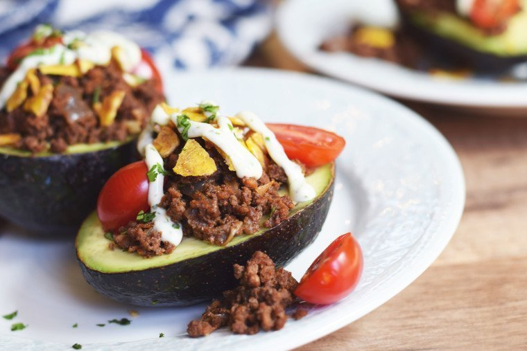 Taco Stuffed Avocados