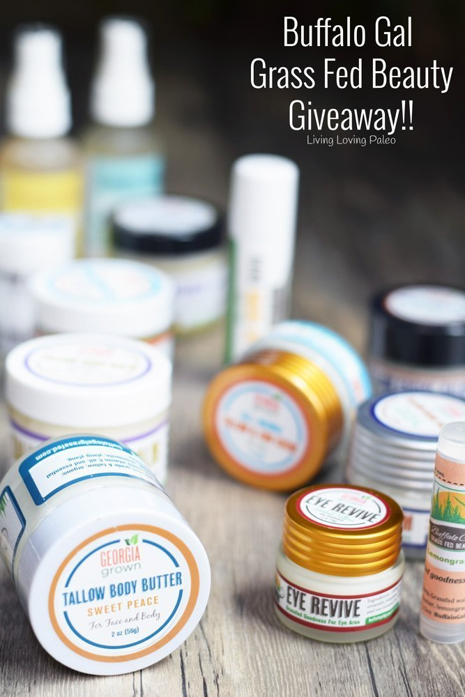 Buffalo Gal Grassfed Beauty – Giveaway!!
